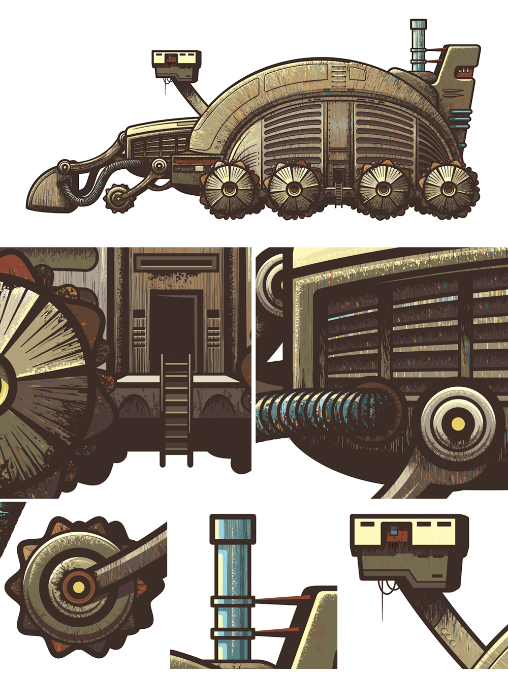 Dune Spice Harvester - image 5 - student project