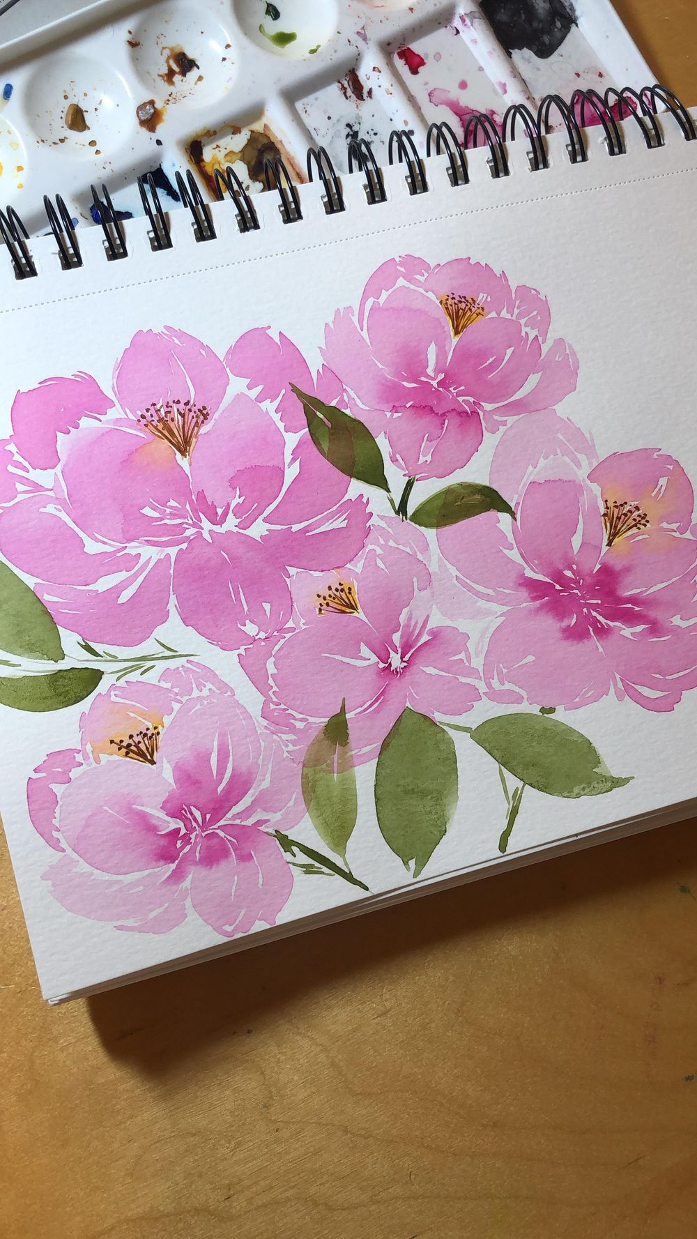 Peonies with Joly - image 3 - student project
