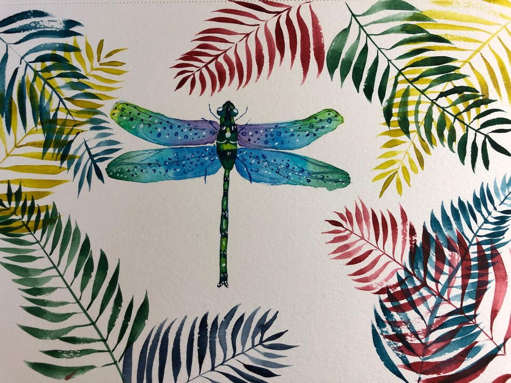 Dragonfly with Irina - image 1 - student project