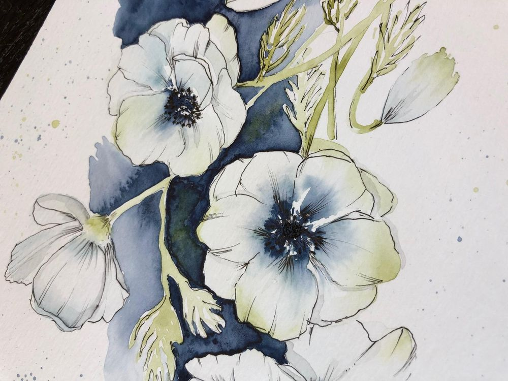 Anemones with Camilla - image 1 - student project