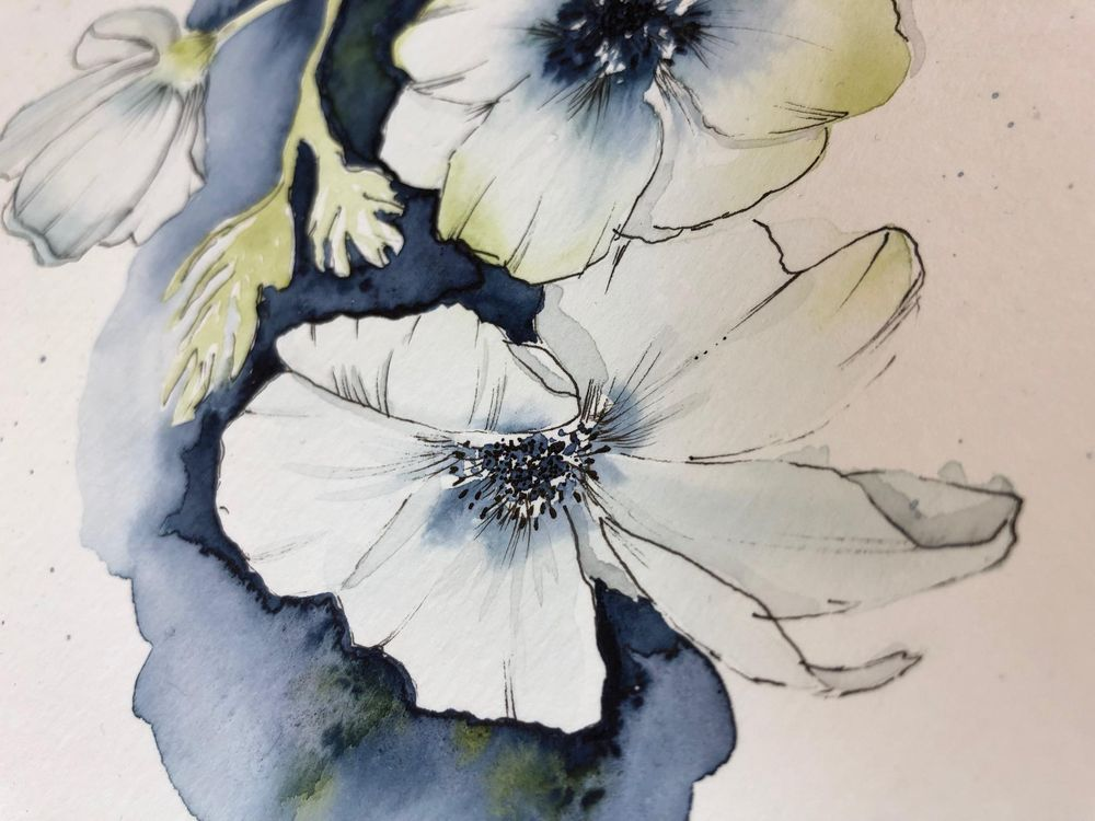 Anemones with Camilla - image 2 - student project