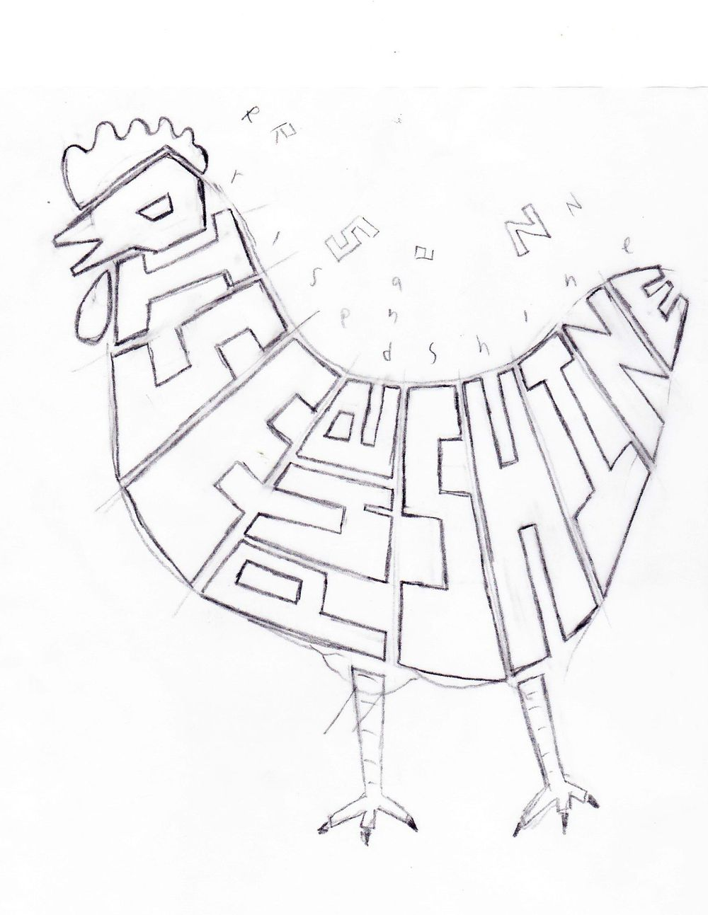 Rooster + Rise and Shine - image 1 - student project