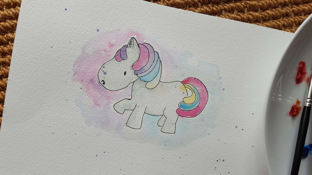 Two Watercolour Cuties - image 3 - student project