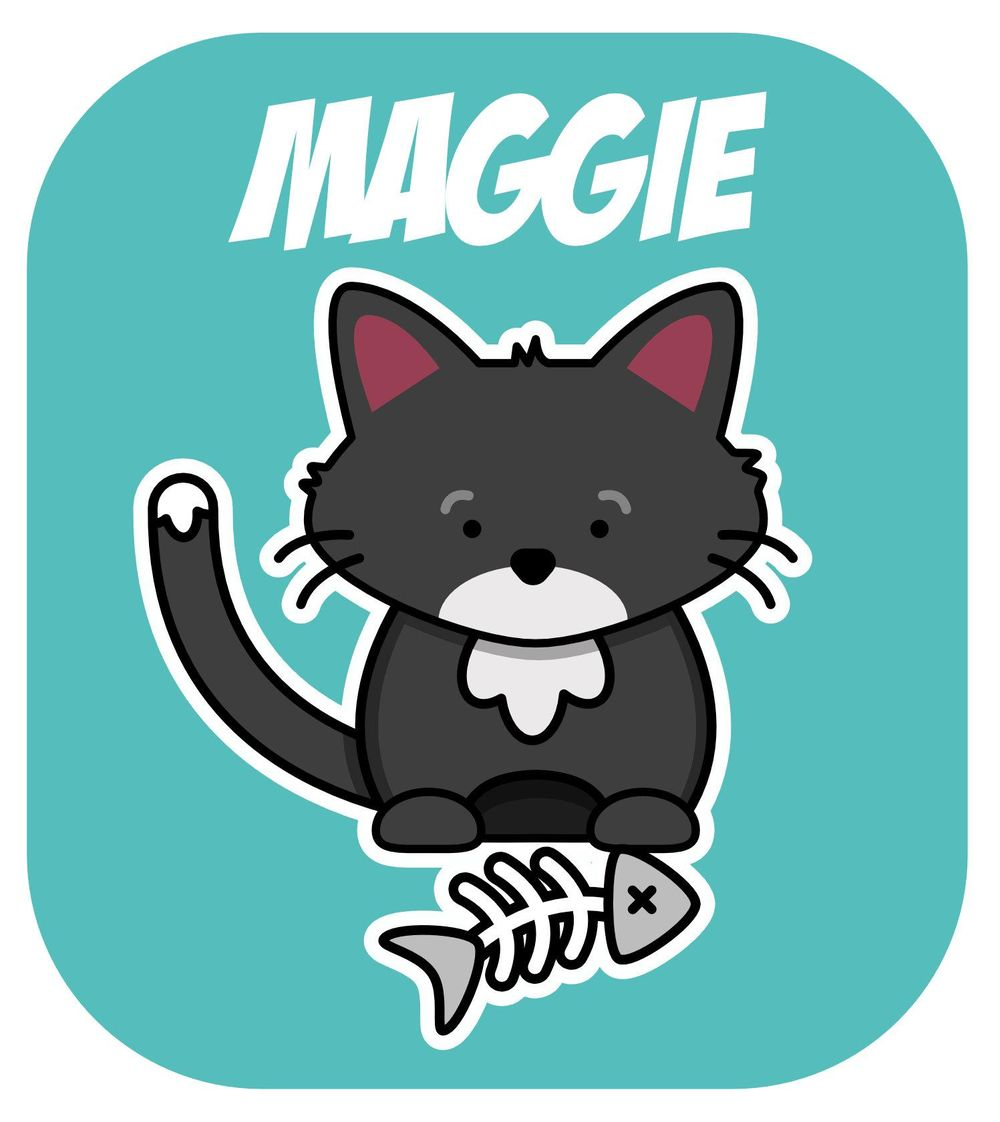 Maggie Cat - image 1 - student project