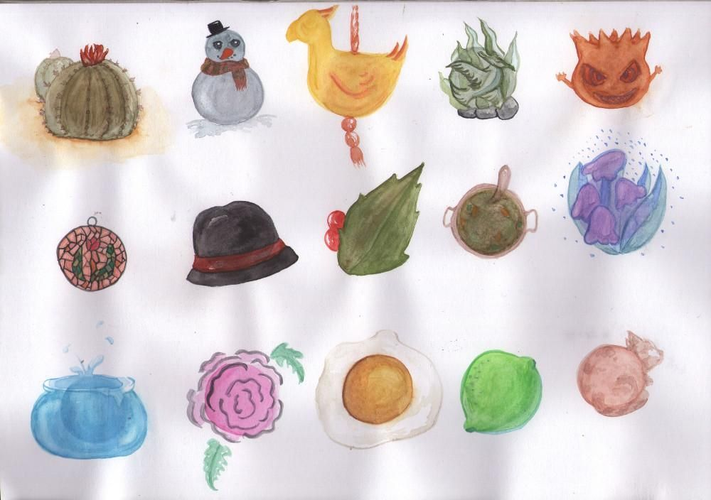 Random shapes - image 2 - student project