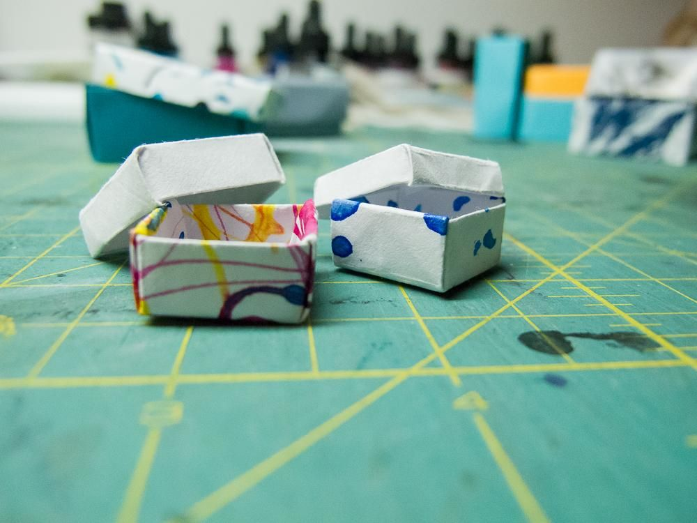 Origami Boxes - image 4 - student project