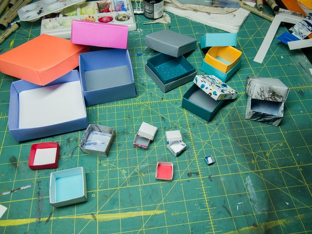Origami Boxes - image 1 - student project