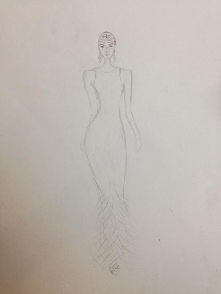 WATERCOLOR SKETCH: The Great Gatsby - image 5 - student project