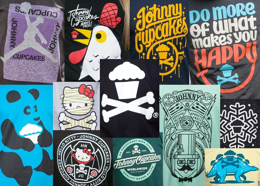 Shereen - Johnny Cupcakes Collage  - image 1 - student project
