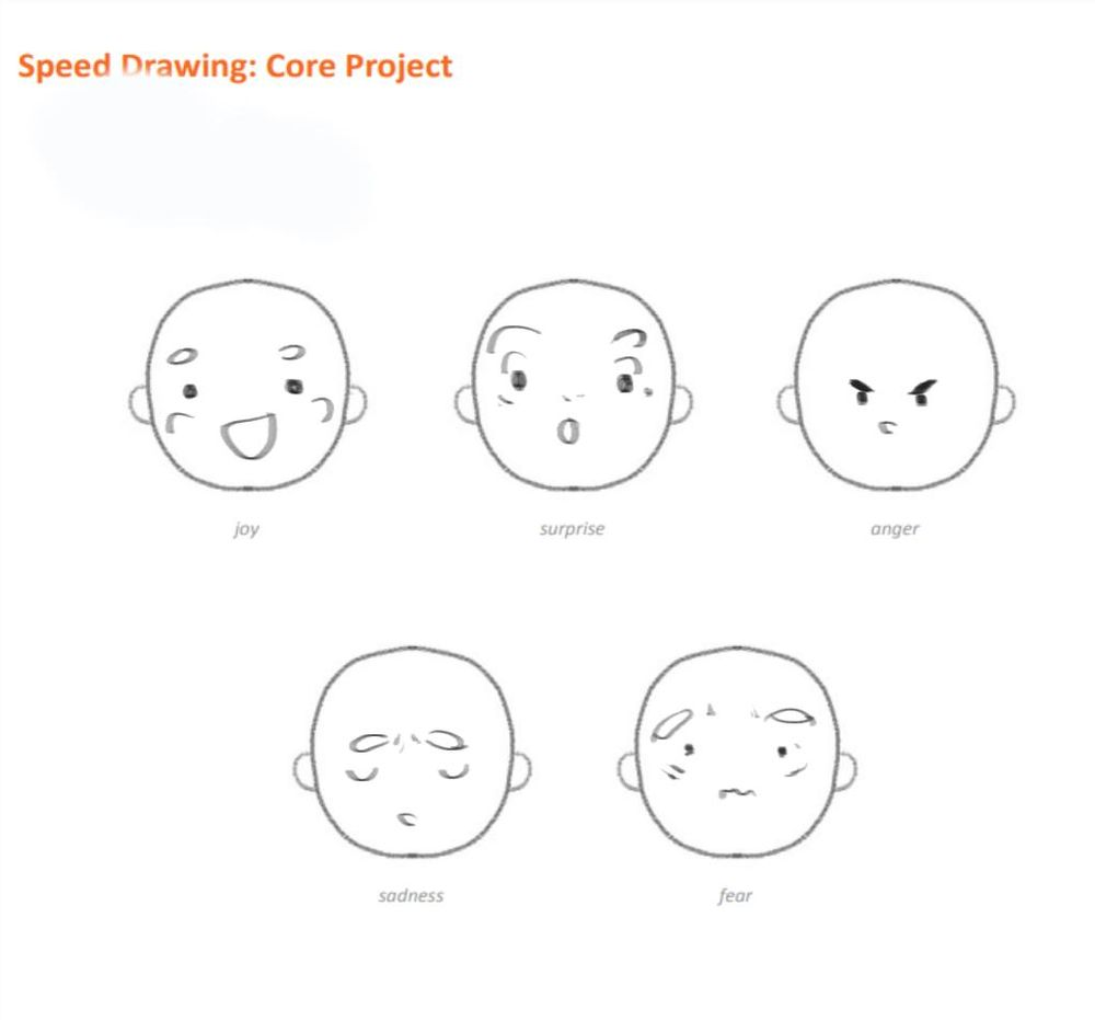 Character Illustration: From Feelings to Faces - image 1 - student project