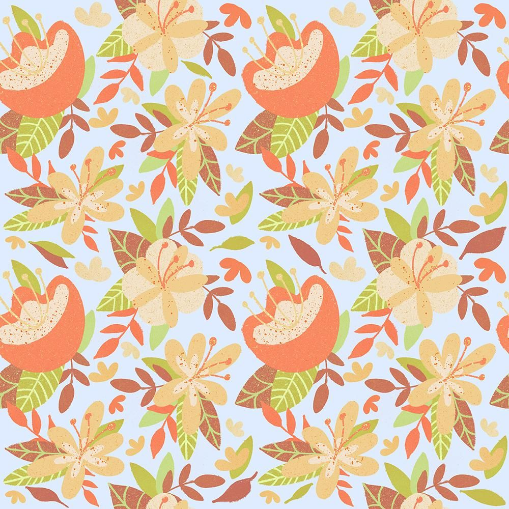 My Procreate Repeat Pattern - image 2 - student project
