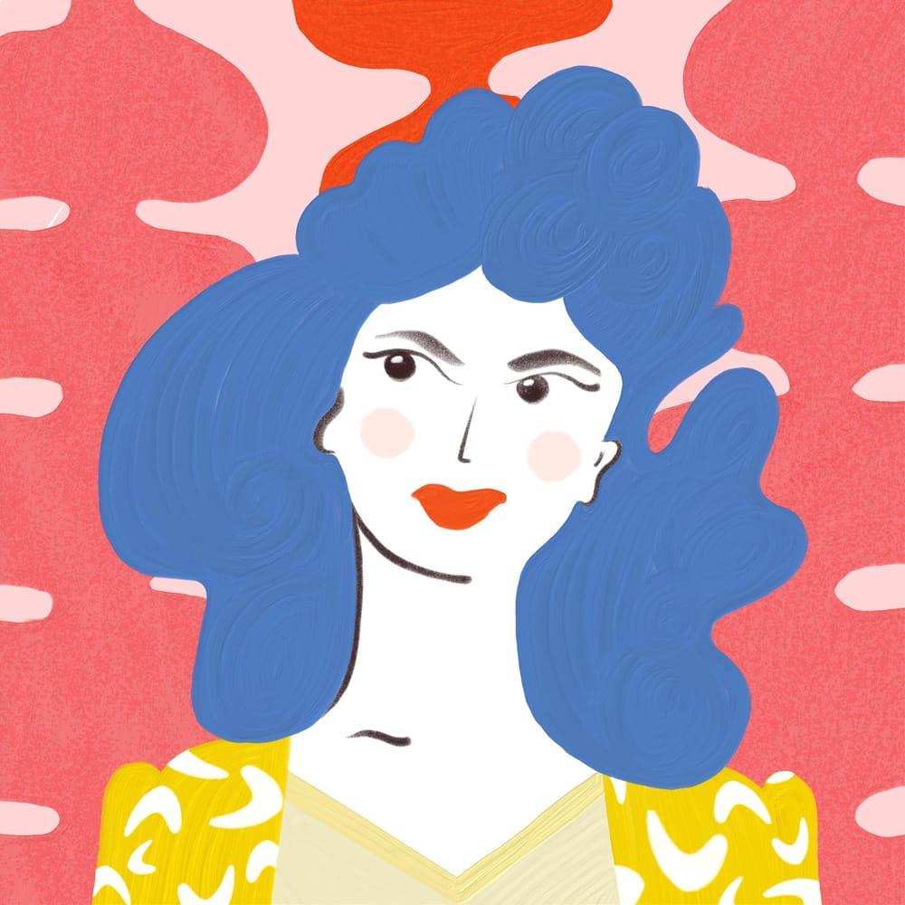 My Fresco Portrait - image 2 - student project