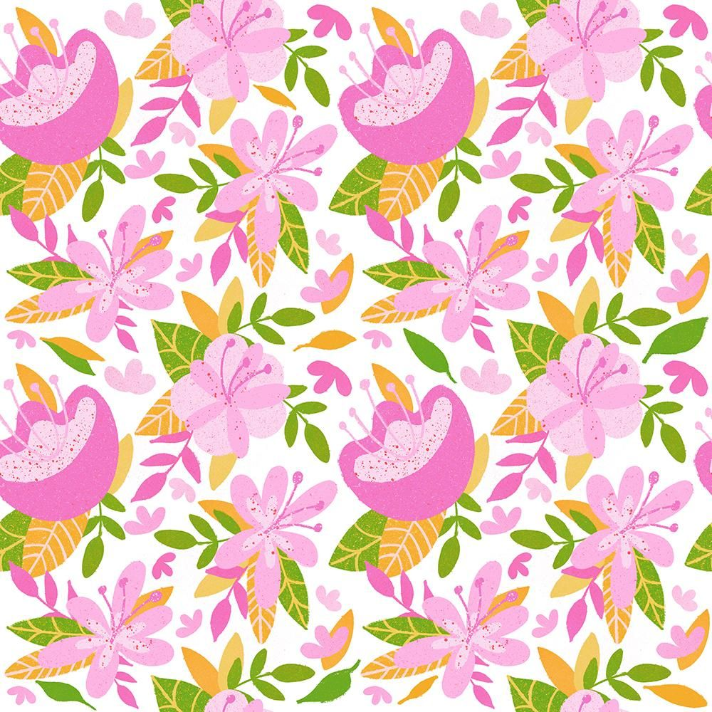My Procreate Repeat Pattern - image 1 - student project