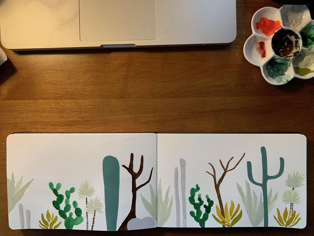 Cacti Dream Garden - image 3 - student project