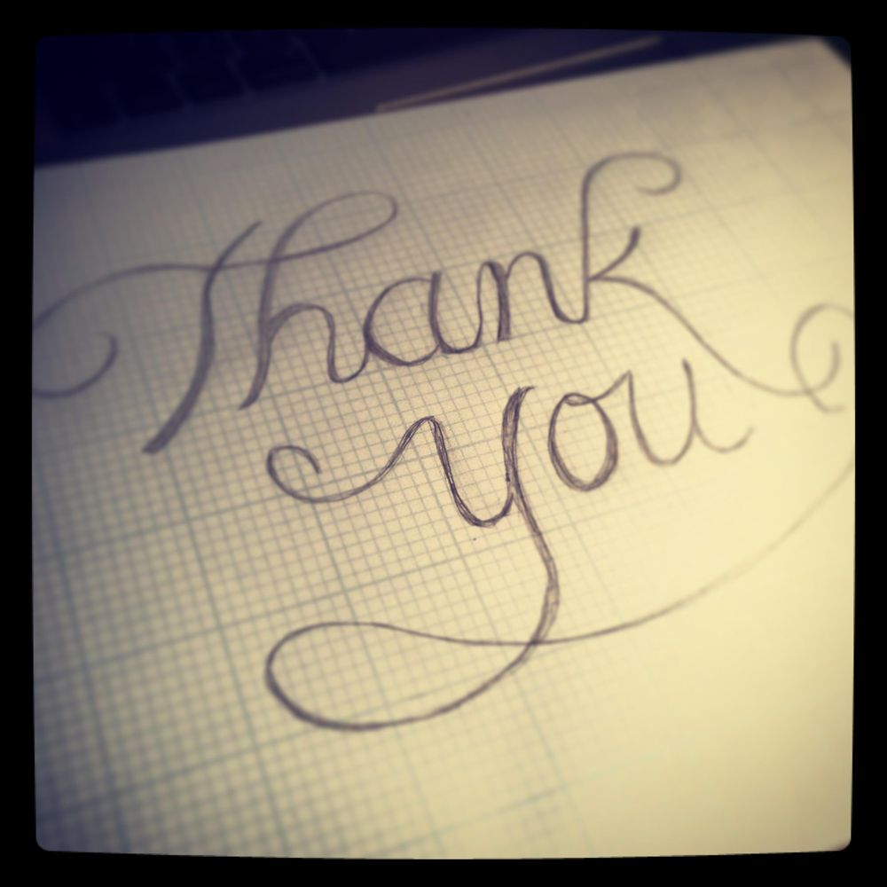 Thank you cards - image 2 - student project