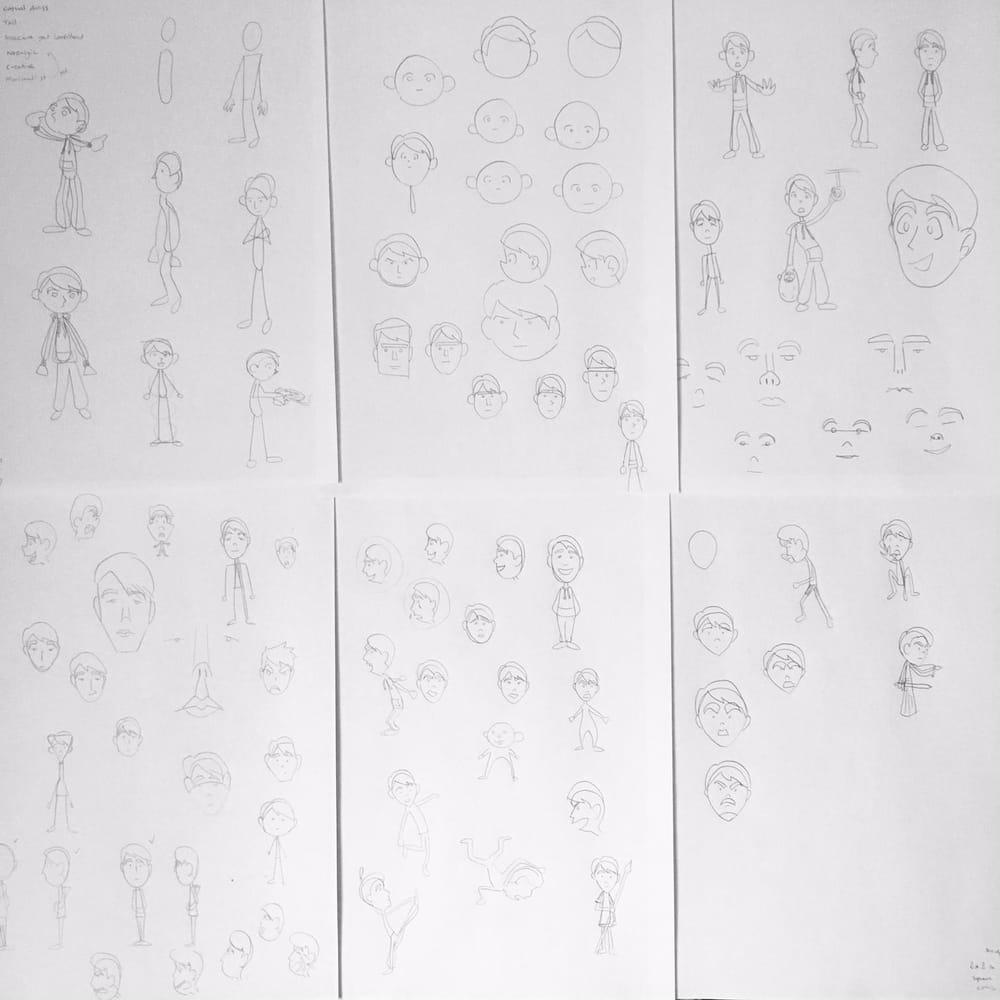 Dan's Web Comic - image 1 - student project