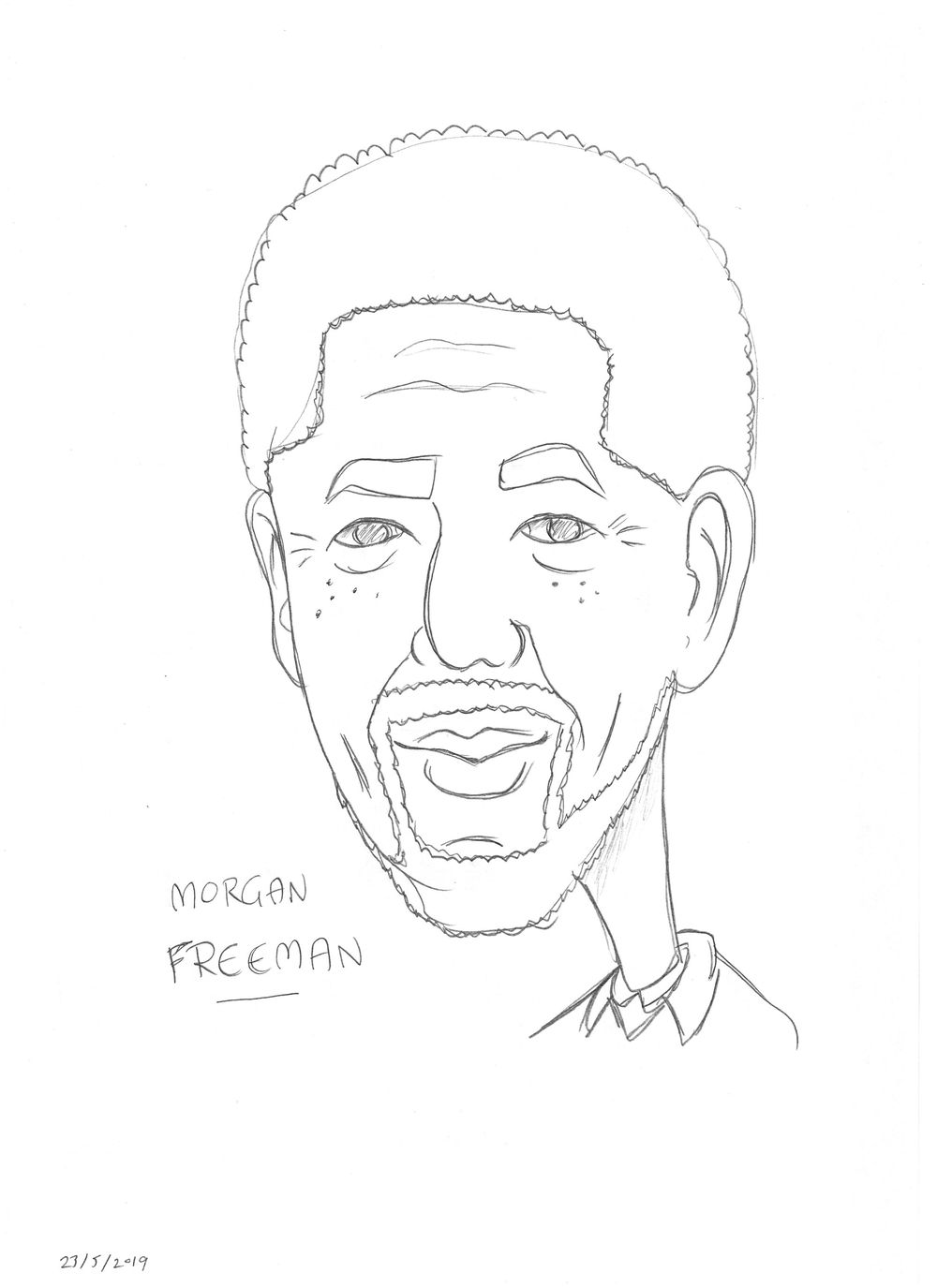 Pencil Caricatures - image 2 - student project