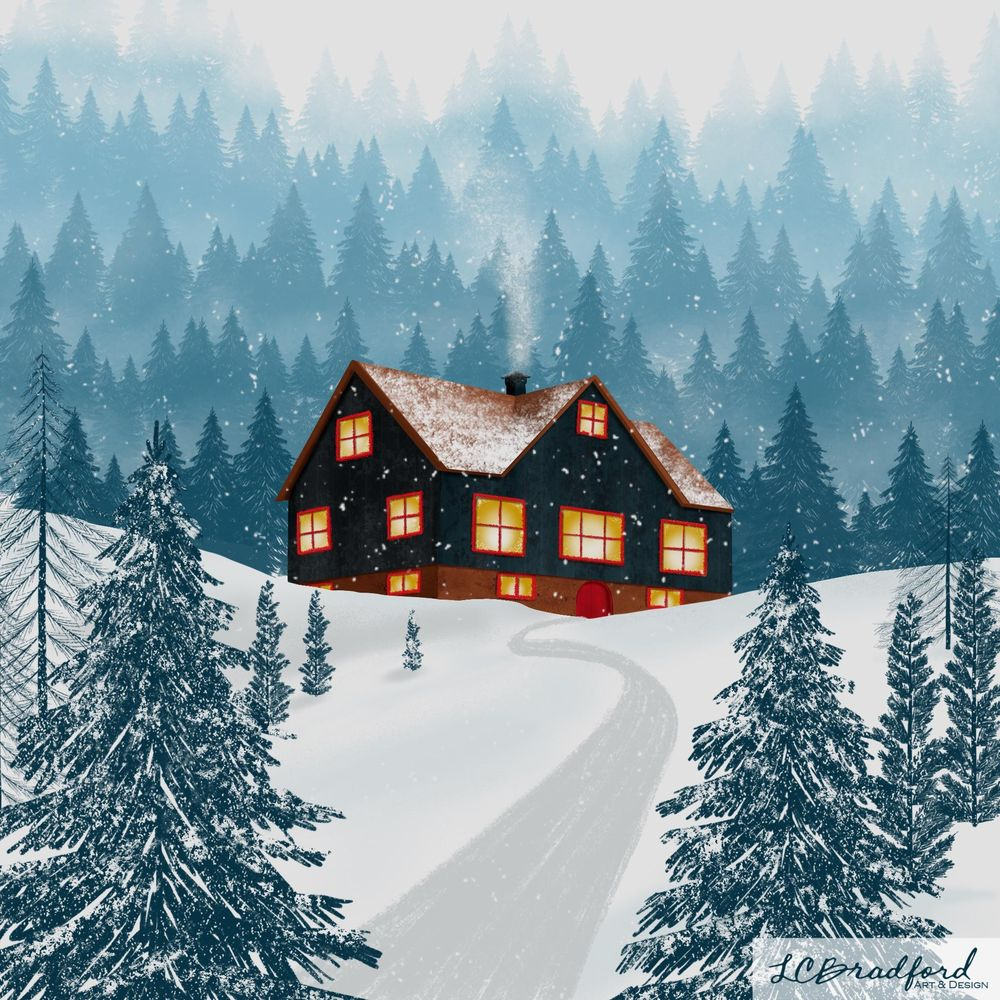 Winter Cabin - image 1 - student project