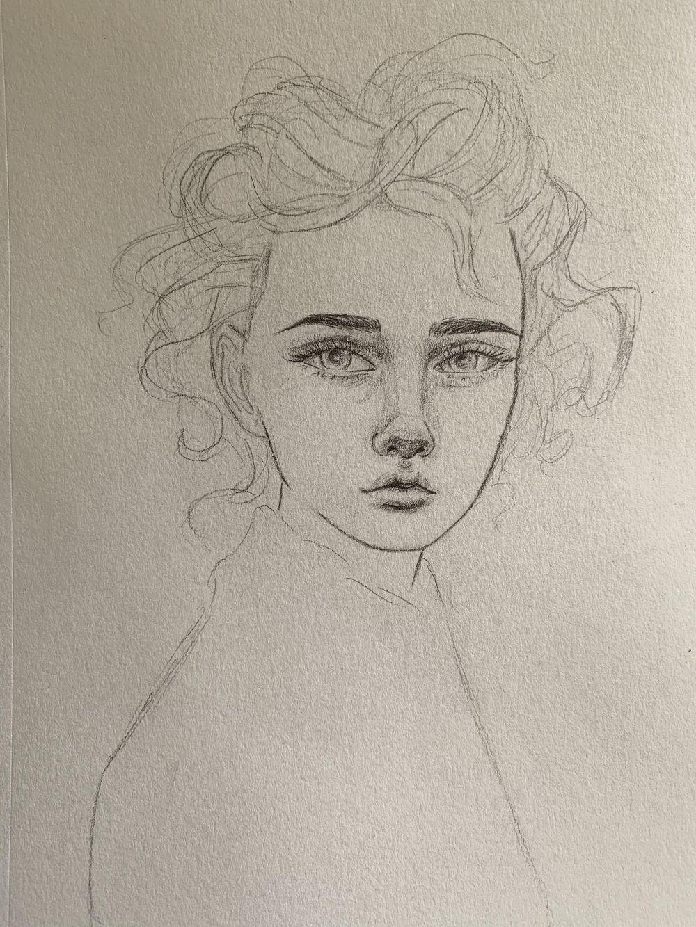 Portrait Mimicry Sketch - image 3 - student project