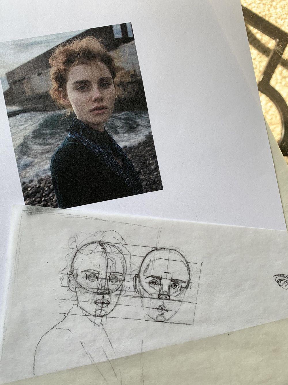 Portrait Mimicry Sketch - image 1 - student project