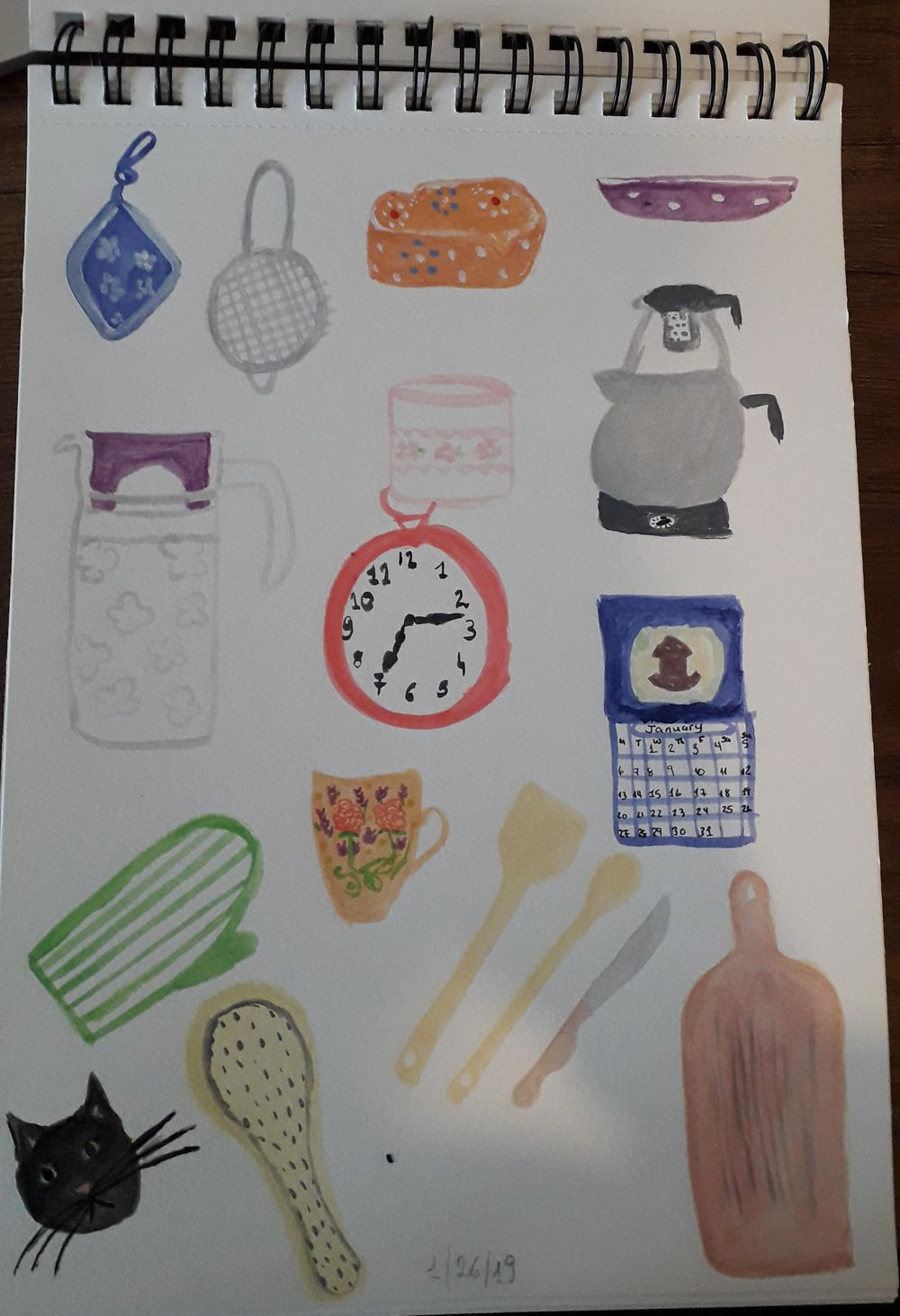 Teacups & Kitchen Items - image 1 - student project
