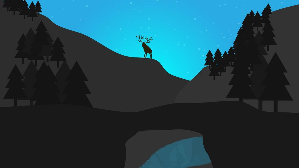 First forest illustration - image 2 - student project