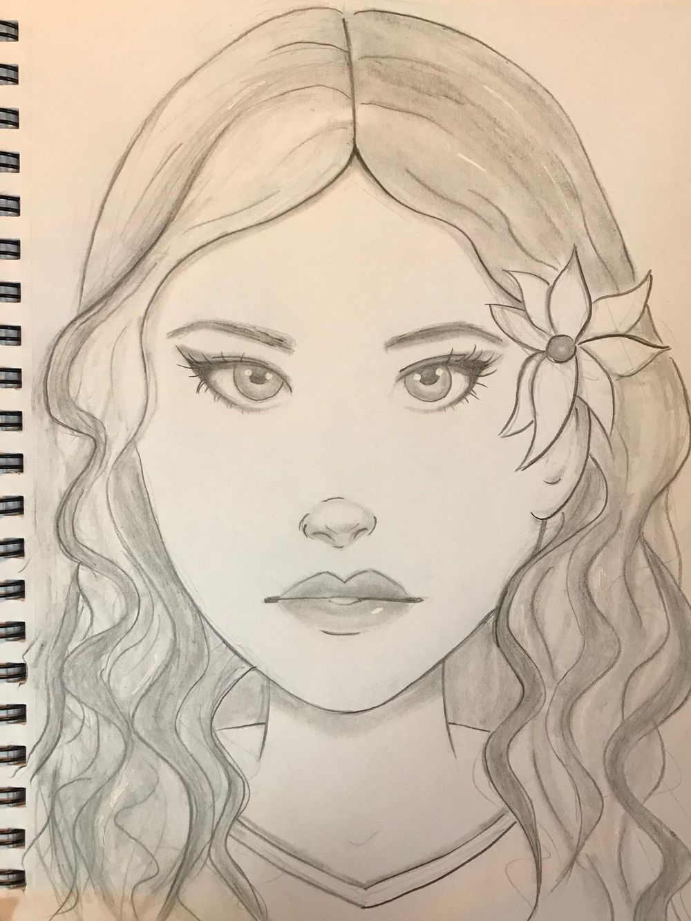 Girl Sketches - image 2 - student project