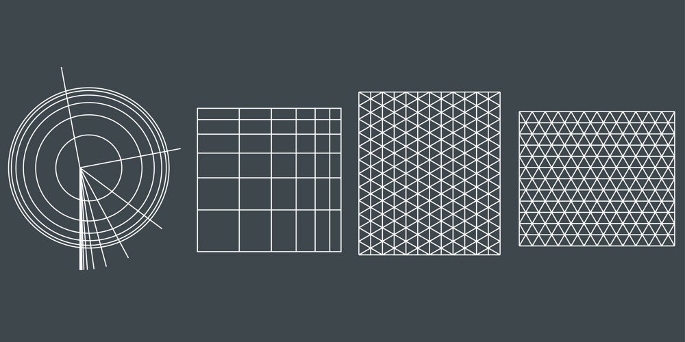Geo grids - image 1 - student project
