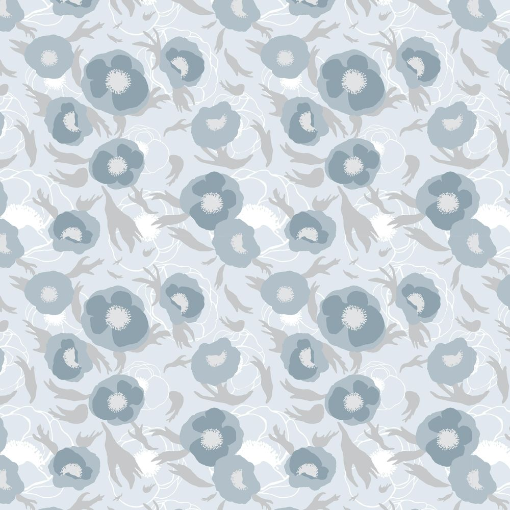 Layered floral pattern - image 5 - student project