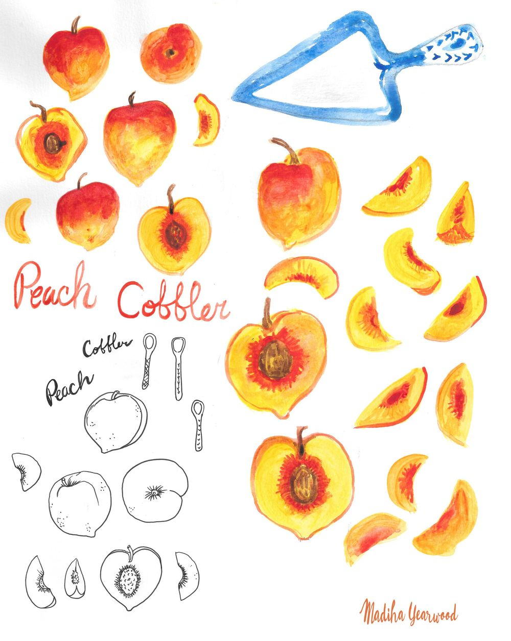 Yummy Peach Cobbler! - image 2 - student project