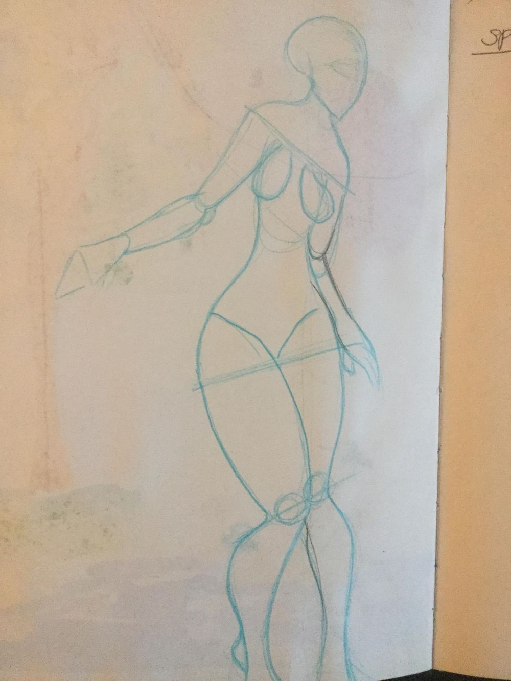 First time drawing a figure - image 2 - student project