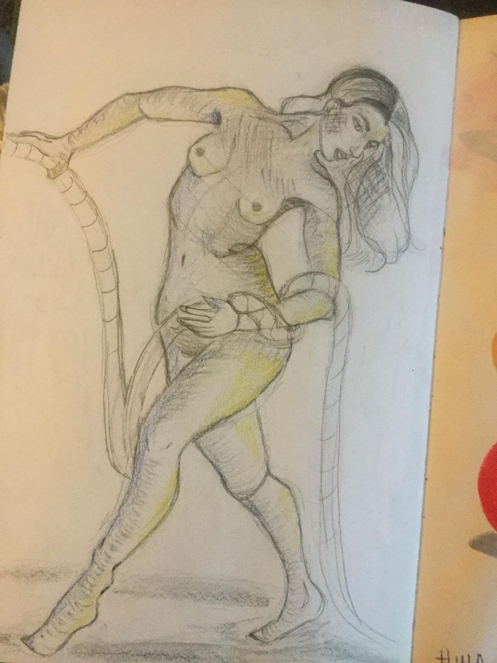 First time drawing a figure - image 4 - student project