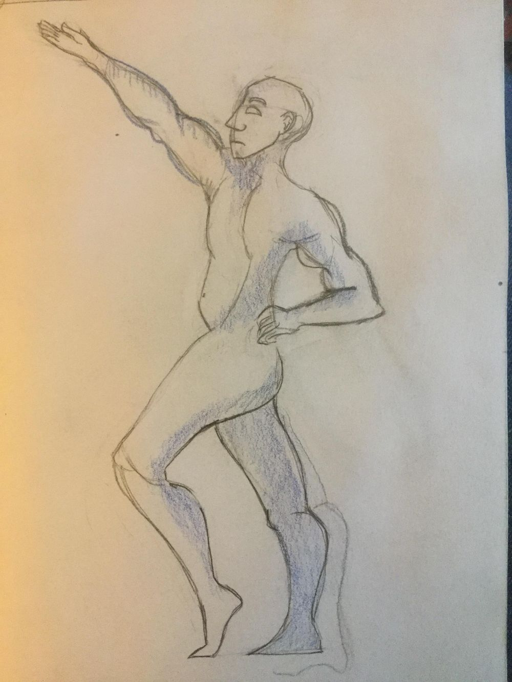 First time drawing a figure - image 1 - student project