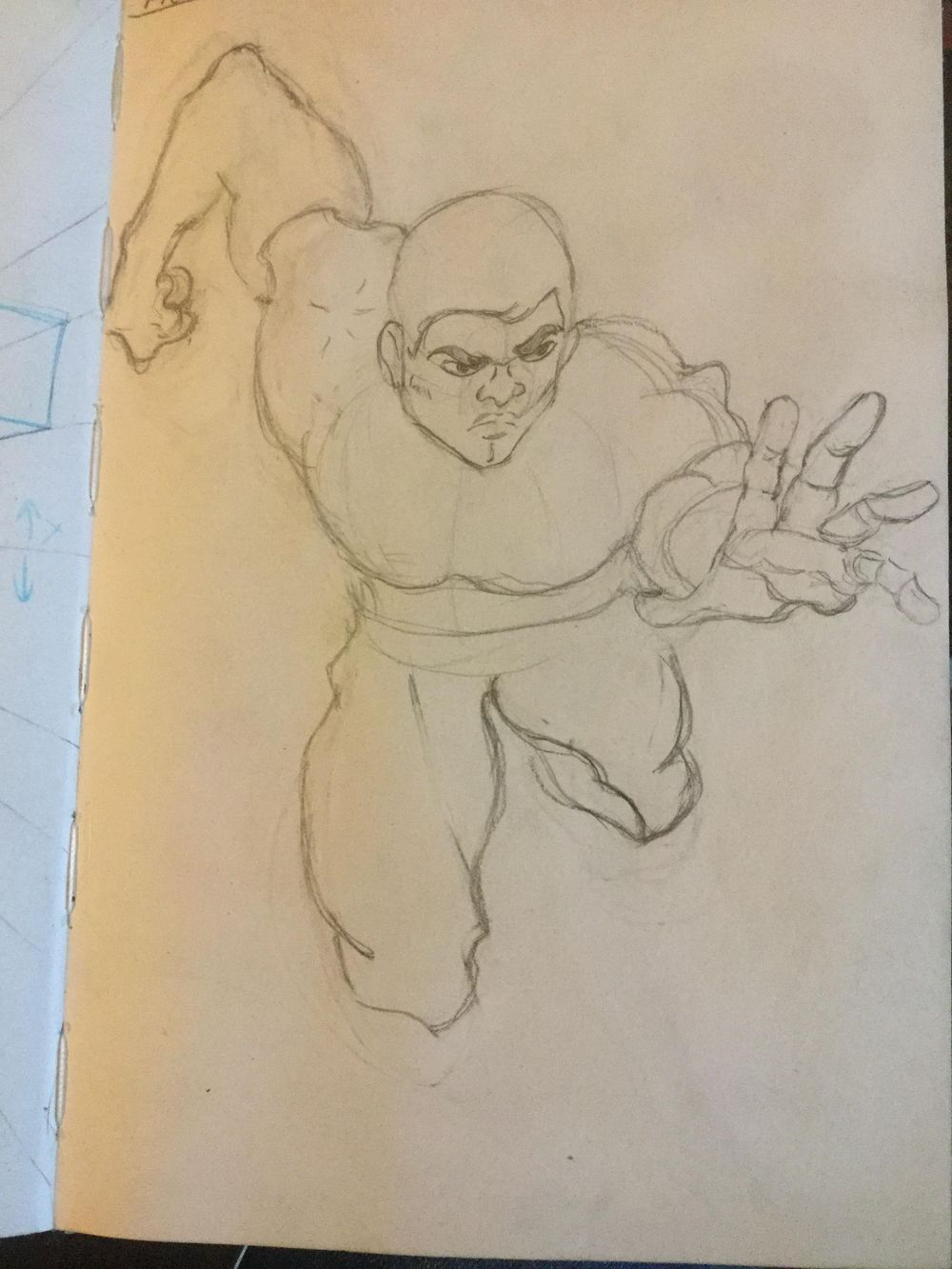 First time drawing a figure - image 3 - student project