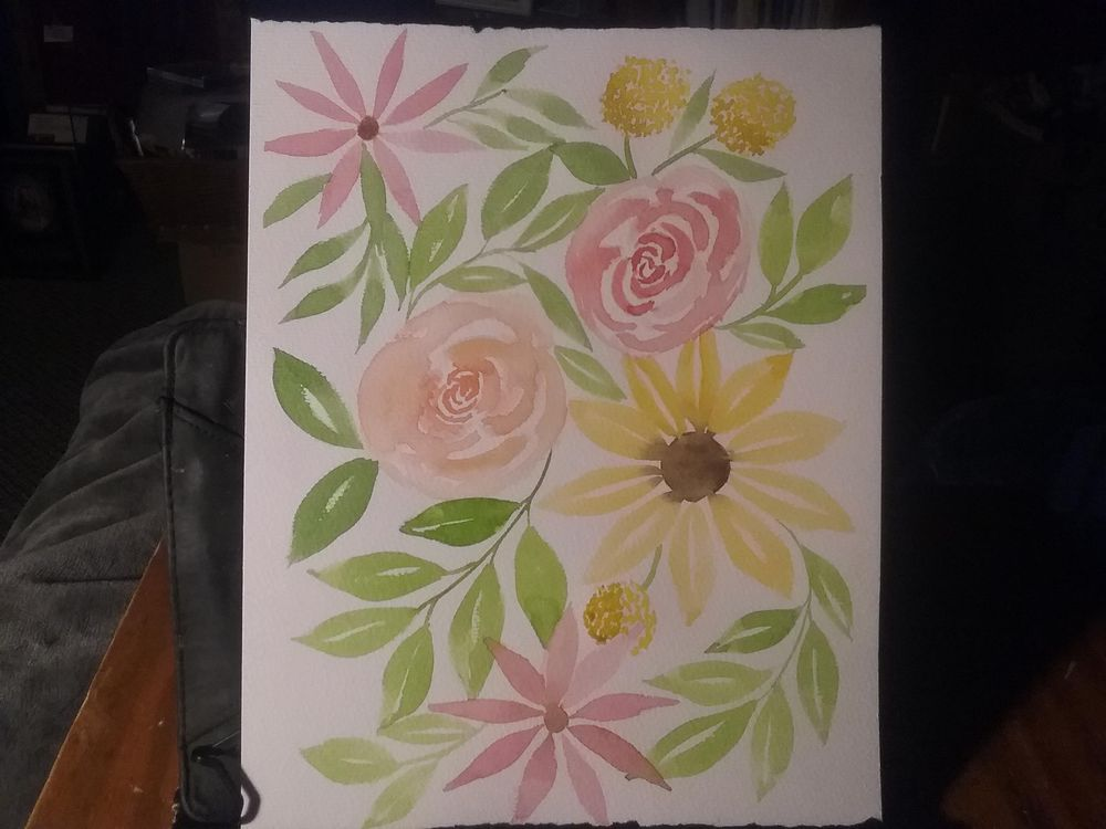 Floral fun - image 1 - student project