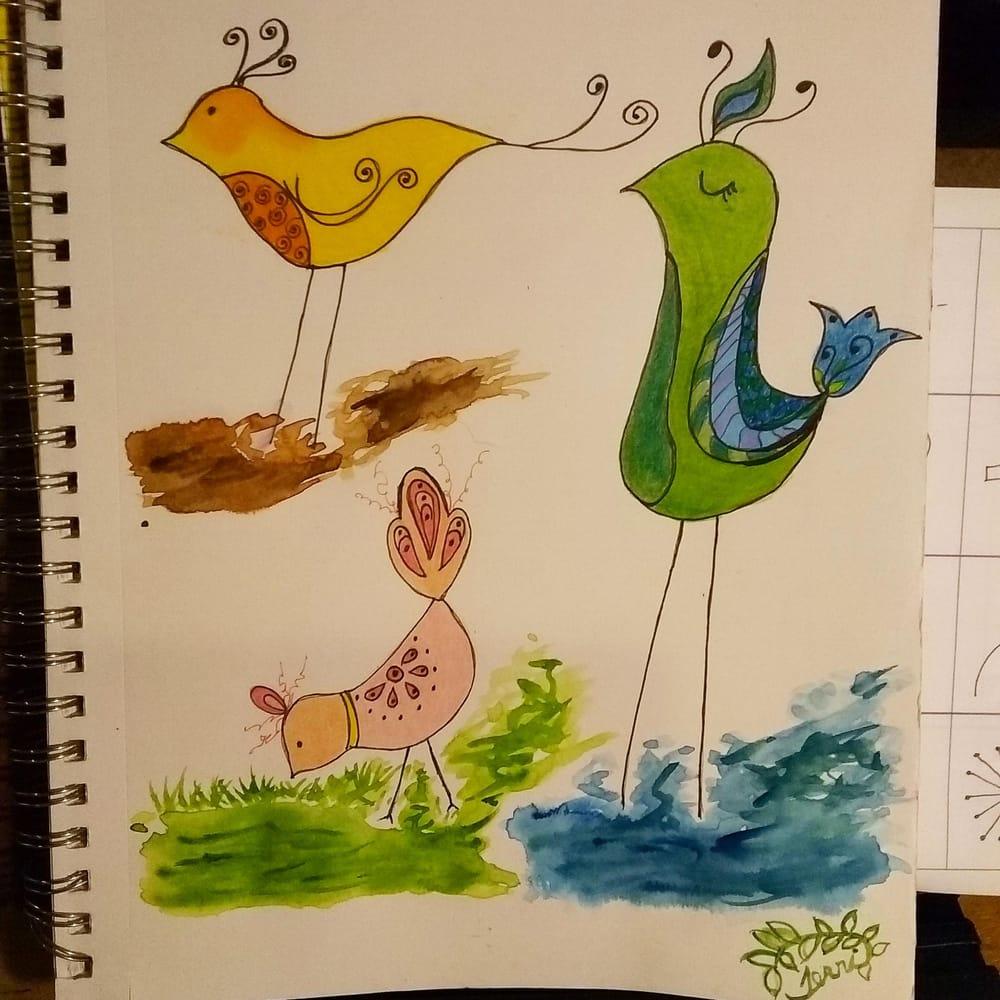 Terri's New Bird Family - image 2 - student project