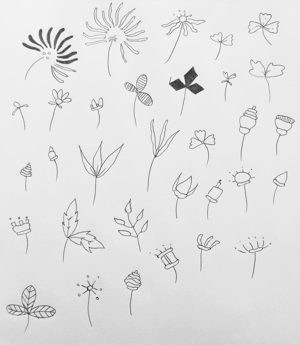 32 flowers practice - image 1 - student project
