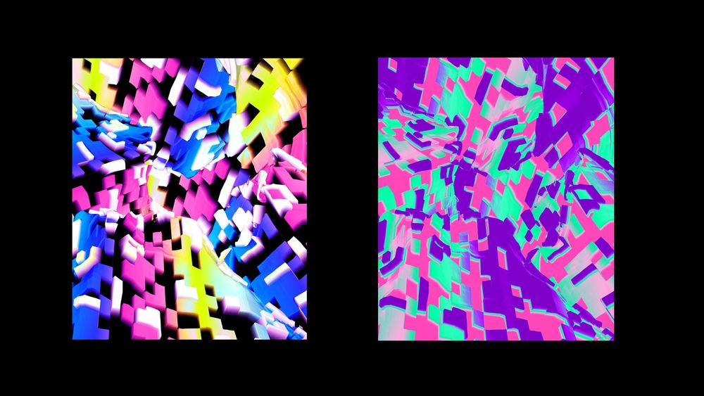 Abstract Colorful Artwork - image 3 - student project