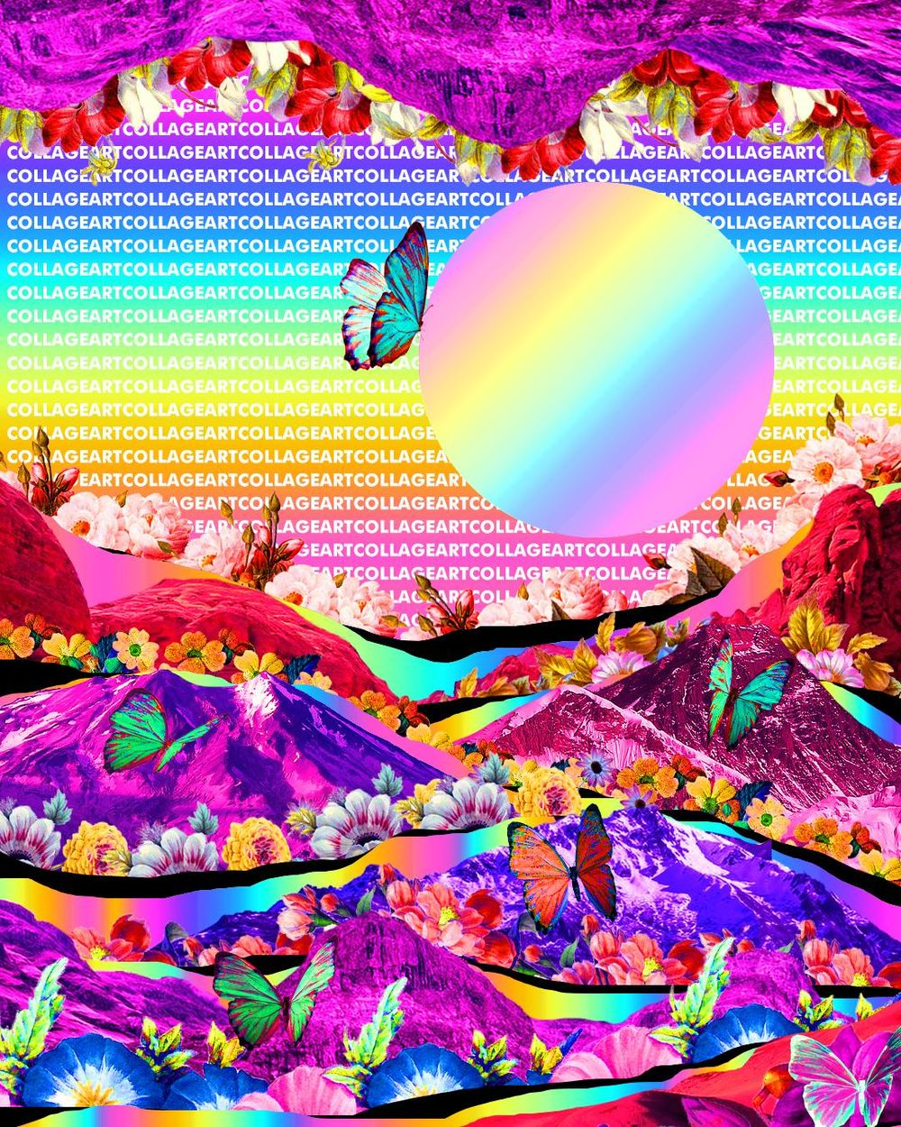 Digital Collage Art - image 1 - student project