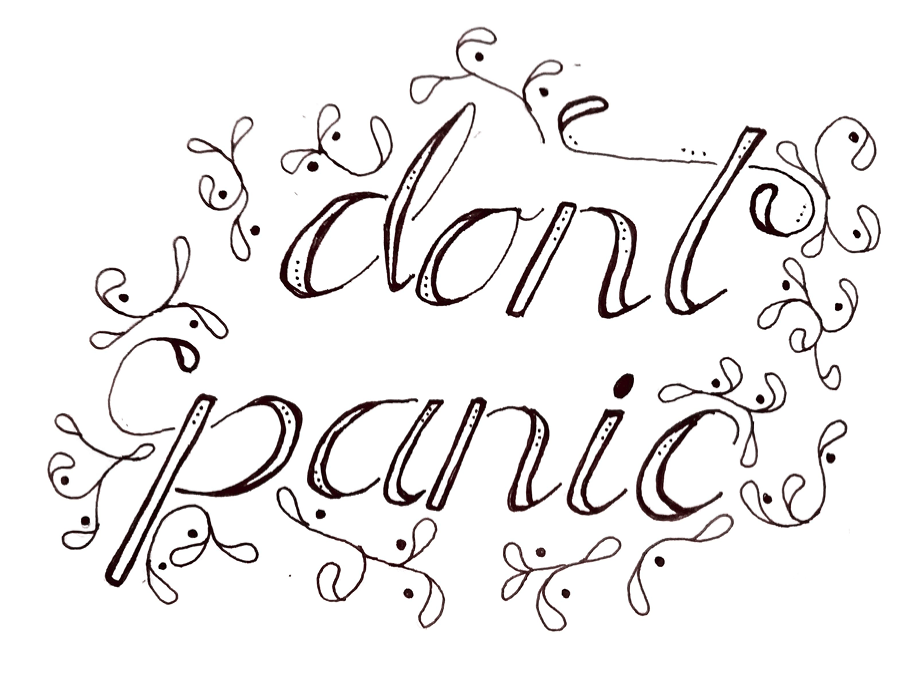 Don't Panic - image 1 - student project