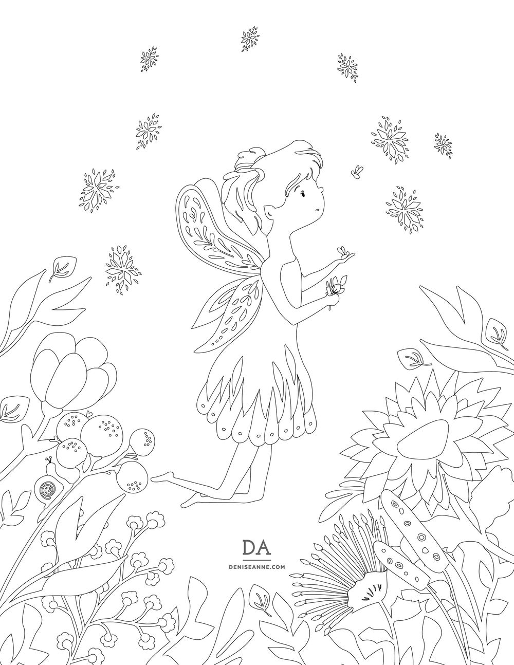 Coloring Book Page - image 1 - student project