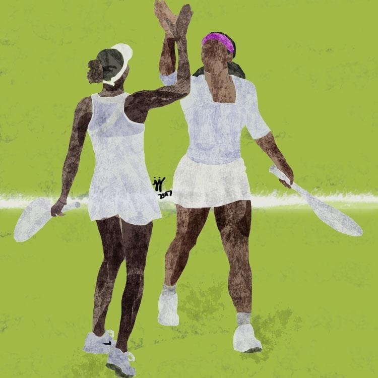 Serena & Venus Williams  - image 1 - student project