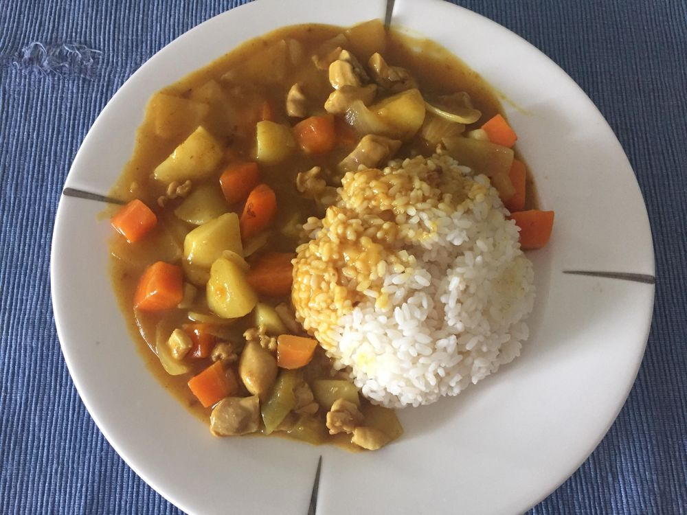 How to cook a not so spicy Korean Curry :) - image 1 - student project