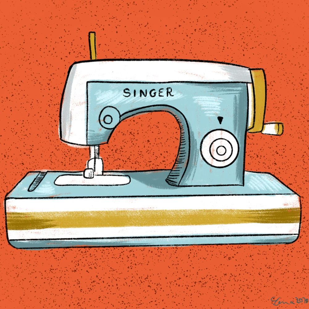 Vintage sewing machines collection - image 4 - student project