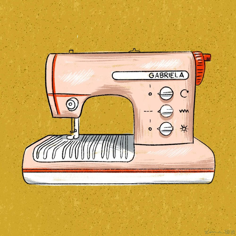 Vintage sewing machines collection - image 1 - student project