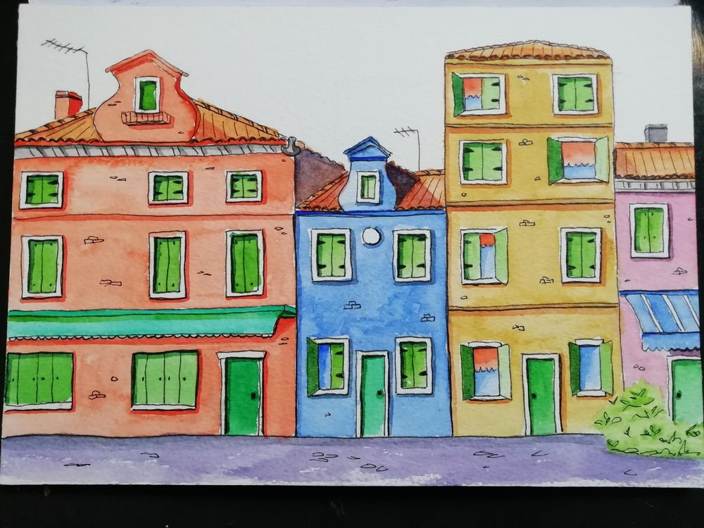 Italian houses - image 1 - student project