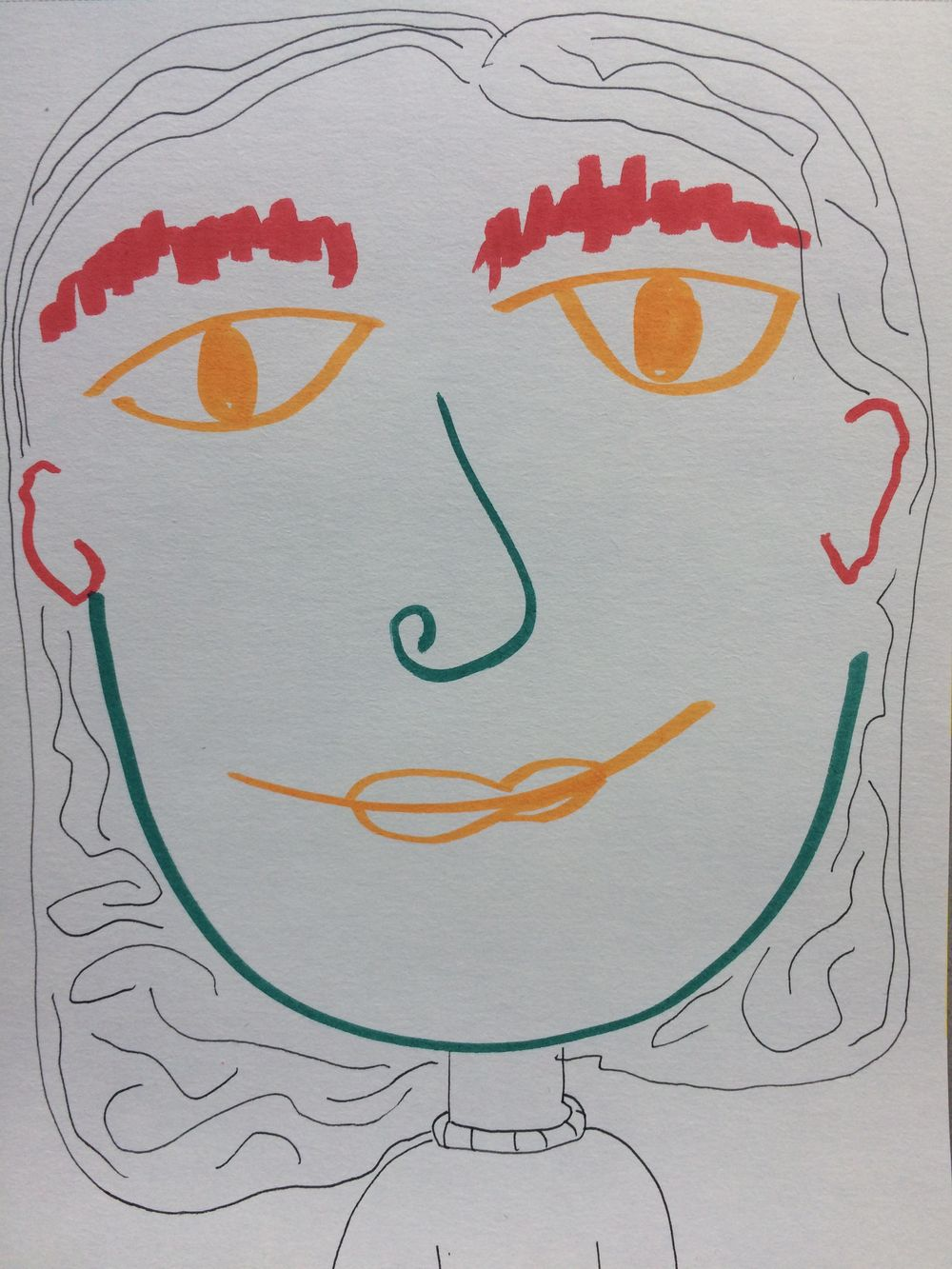 Faces - image 1 - student project