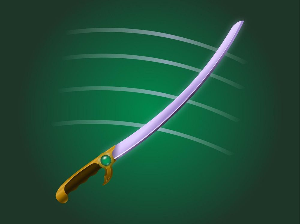 Emerald Saber - image 2 - student project