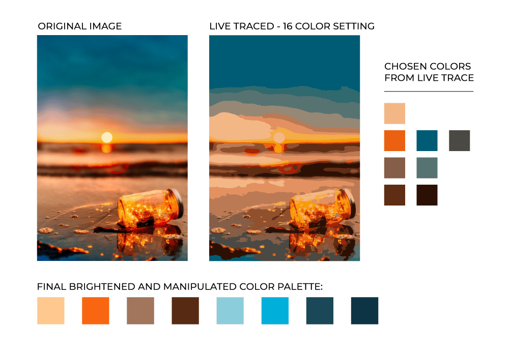 Beachy Color Palette - image 1 - student project