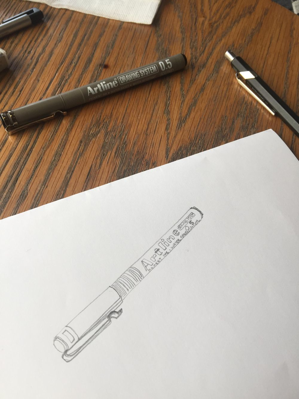 Drawing My Tools - image 2 - student project